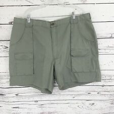 Woolrich Mens Hiking/Casual Shorts Olive Green Sz 42 Multi Pockets