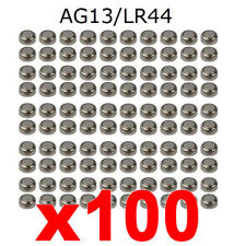 100pcs AG13 SR44 357 LR44 L1154 1,5 V ALCALINE BOTTONE cella BATTERIE dz