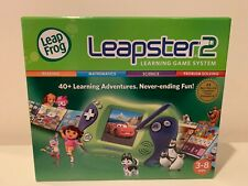 NEW LeapFrog Leapster 2 Learning Game System - Green - NIB Factory Sealed