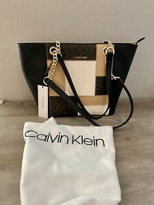 Calvin Klein Women's Hayden Multi-Brown Handbag