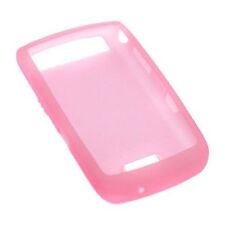 Original BlackBerry Storm Thunder 9530 9520 9500 Pink Rubber Skin Silicone Case