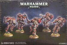 Miniaturas de Warhammer 40k marines espaciales del caos