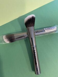 MORPHE BRUSH G4 Angle Blush/Contour Brush Gun Metal Collection NEW