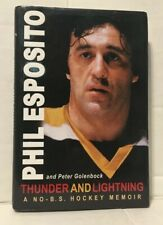 THUNDER AND LIGHTNING PHIL ESPOSITO NHL HOCKEY BRUINS BLACKHAWKS RANGERS HC