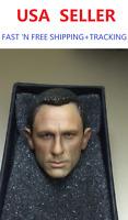 1/6 Daniel Craig Head Sculpt 3.0 For James Bond 007 Skyfall Spectre ❶IN STOCK❶