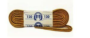 Lacci Scarpe Stringhe Timberland 90/120/150 cm Bicolore Marrone/Giallo