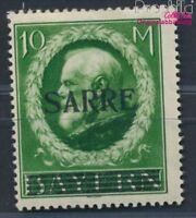 Saarland 31 geprüft mit Falz 1920 Bayern mit Aufdruck (8940562