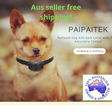 Anti barking collar  pet friendly stop barking Dog immediately train dog in days