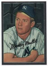 1996 Bowman's Best Mantle Chrome 20 1952 Bowman 101 Mickey Mantle Rookie RC
