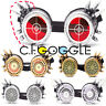 C.F.GOGGLE Goggles Barbed Glasses Retro Victorian Welding Cosplay Goth PC Len US