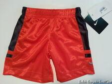 Nike Shorts Boys Basketball Size 2T Orange Black Nwt