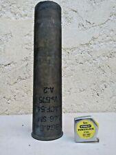 WW2, Militaria US , DOUILLE 75mm 1942 origine bataille des Ardennes