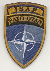 ISAF    NATO - OTAN  patch