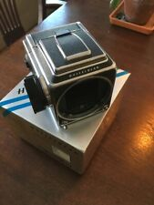 Hasselblad 500cm Late Model Japanese Star, A12 Back, WLVF, Screen- Factory Specs