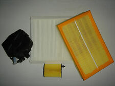 2004 2005 2006 Ford Focus 1.6 TDCi Air Oil Cabin Pollen Fuel Filters Kit