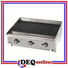 "Star 6036CBF Star-Max 36"" Heavy Duty Lava Rock Gas Char-Broiler"