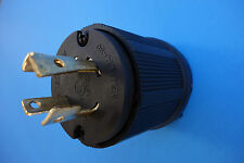 L14-30P Twist Locking Plug 30A 125V 250V Perfect for 10/4 Gauge Cable
