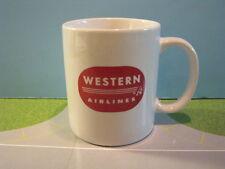 "WESTERN AIRLINES ""RETRO"" CERAMIC COFFEE MUG"
