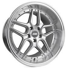 "4ea 19"" Staggered ESR Wheels CS15 Hyper Silver JDM Style Rims (S1)"