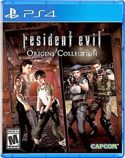 Resident Evil Origins Collection Playstation 4 PS4 Factory Sealed