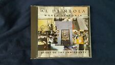 DI MEOLA AL - WORLD SINFONIA. HEART OF THE IMMIGRANTS. CD