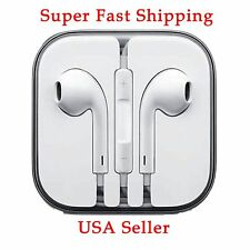 Apple Earphone for iPhone 4S/5S/5C/6S EarPod Headphone Handsfree With Remote