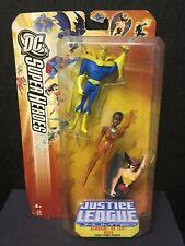 Hawkgirl-Dr. Fate-Vixen 2005 Dc Superheroes Sealed Action Figures