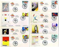 Juego completo sobres Olimpiadas Barcelona 1992  B92 olympics games stamps sello