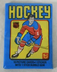 1979-80 Topps Hockey Complete Sealed Wax Pack GRETZKY ROOKIE YEAR! BC3201