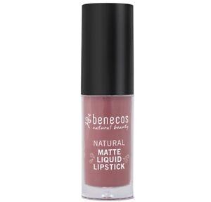 New Benecos Natural Natural Matte Liquid Lipstick Rosewood Romance.16oz