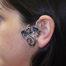 JoliKo Ohrringe Ear cuff Ohrklemme Drache Dragon Gothic Ritter Mittelalter LINKS