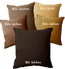 Ma Light Brown Gold Chenille Velvet Style Pillow Case/Cushion Cover*Custom Size