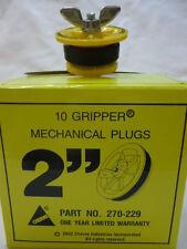 "Cherne Industries Inc. 270-229 2"" Pipe Plug Gripper Mechanical Plug"