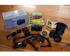 Reducción de precios MFT m4/3 Panasonic Lumix DMC – gf1 negro, incl. 14-45mm kit – objetivamente