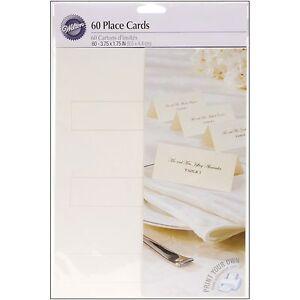 Wilton Place Cards
