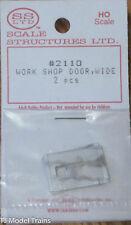 SS Ltd. HO #2110 Work Shop Door, Wide
