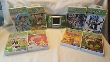 LeapFrog Leapster Learning Handheld Game System #20200 With 8 Learning Games