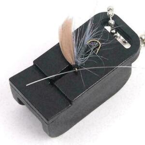 Magnetic Tippet Threader Fishing Hook Threader Gear Fishing Access Fly W3W6 U9M3