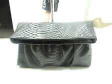 New Without Tag Floor Sample Style&Co Clutch Black Bag W/ Front Slip Pocket