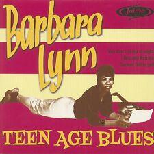 45 EP BARBARA LYNN - TEEN AGE BLUES - RNB SOUL - LIMITED EDITION - NEW REPRO