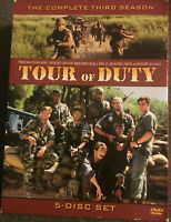 Tour of Duty - Complete Third Season (DVD, 5-Disc Set) 1987 Series 3 - 16 HOURS