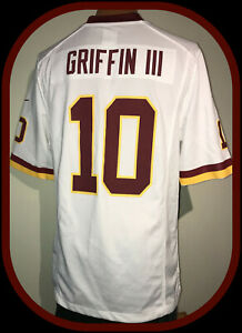 WASHINGTON REDSKINS ROBERT GRIFFIN RG 111 NIKE ON FIELD JERSEY ADULT SMALL NWOT