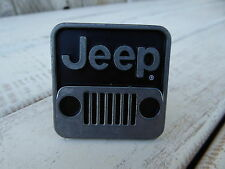 JEEP LOGO ~ Gun Metal & Black Knobs - Automotive Car Cabinet Drawer Pulls KNOB