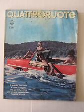 QUATTRORUOTE AGOSTO 1965 / ANNO X / NUMERO 116  - LEGGI