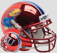 KANSAS JAYHAWKS NCAA Schutt XP Authentic MINI Football Helmet