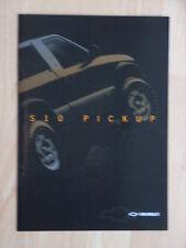 Chevrolet S10 Pickup Prospekt / Depliant, Französisch / Francais / French