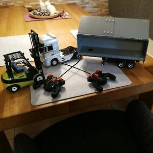 DICKIE Ferngesteuerter LKW RC Mercedes Benz Actros/Forklift Clark