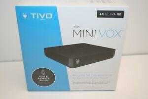 TiVo MINI LUX ~ BRAND NEW ~ LIFETIME SERVICE ~ 4K UHD ~ TCDA95000 ~ Voice Remote