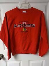 Vintage NHL Chicago Blackhawks Sweatshirt Size Youth Large 16/18 by CSA