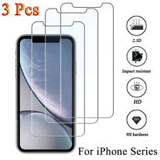 3PCS Tempered GLASS Screen Protector For iPhone 11 Pro 6s 7 8 Plus Xs Max XR Lot